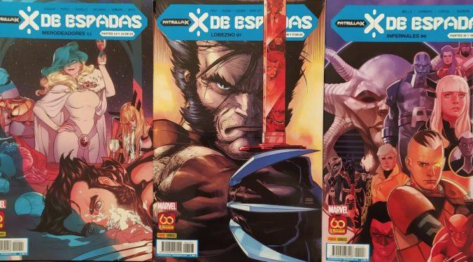 X de Espadas. Reseña de los comics de Marzo (1ª parte – Merodeadores, Lobezno e Infernales)