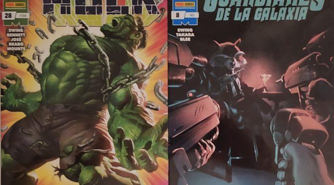Crítica de El Inmortal Hulk 28 y Guardianes de la Galaxia 8 de Al Ewing, Joe Bennet y Marcio Takara (Marvel Comics – Panini)