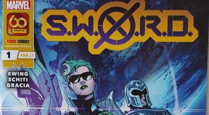 Crítica de SWORD 1 de Al Ewing, Valerio Schiti  y Marte Gracia (Marvel Comics – Panini)