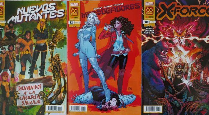 Crítica de Nuevos Mutantes 11, Merodeadores 12 y X-Force 10 (marvel Comics – Panini)