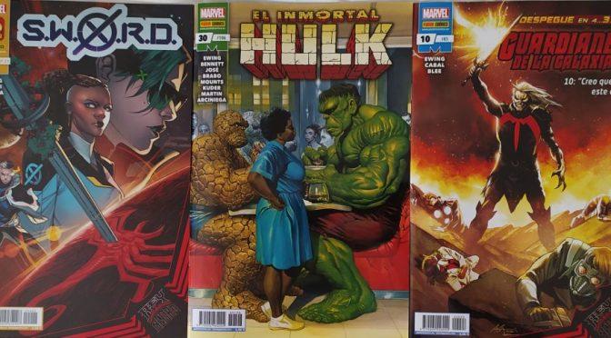 Crítica de El Inmortal Hulk 30, Guardianes de la Galaxia 10 y SWORD 2 (Marvel Comics – Panini)