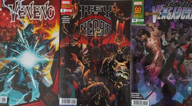 Crítica de El Rey de Negro 2, Veneno 29 y Salvajes Vengadores 17 (Marvel Comics – Panini)
