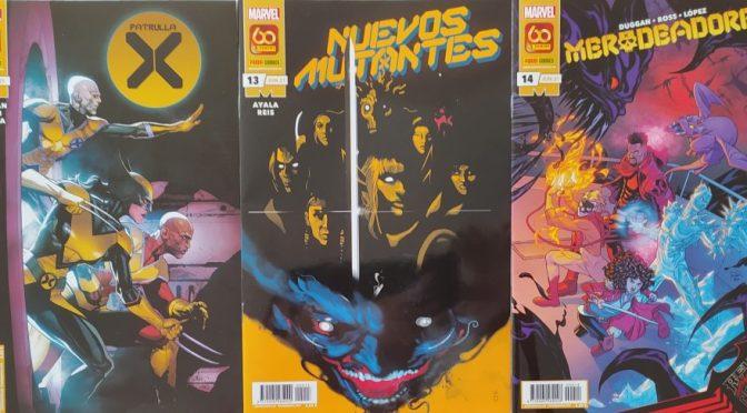 Crítica de Patrulla X 18, Nuevos Mutantes 13 y Merodeadores 14 (Marvel Comics – Panini)