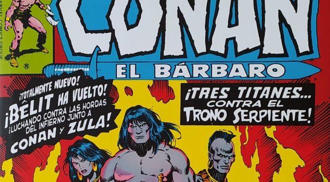 Marvel Omnibus. Conan el Bárbaro: La Etapa Marvel Original 4