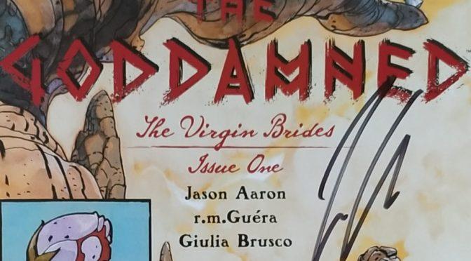 Crítica de The Goddamned The Virgin Brides de Jason Aaron, R.M. Guéra y Giulia Brusco (Image Comics)