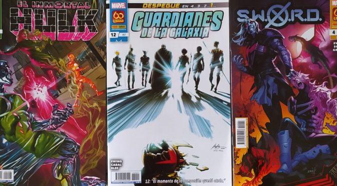 Crítica de El Inmortal Hulk 32, Guardianes de la Galaxia 12 y SWORD 4 (Marvel Comics – Panini)