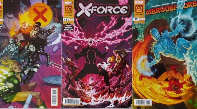 Crítica de Patrulla X 20, X-Force 13 y Merodeadores 15 (Marvel Comics – Panini)