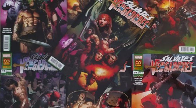 Salvajes Vengadores 13-19 de Gerry Duggan (Marvel Comics – Panini)