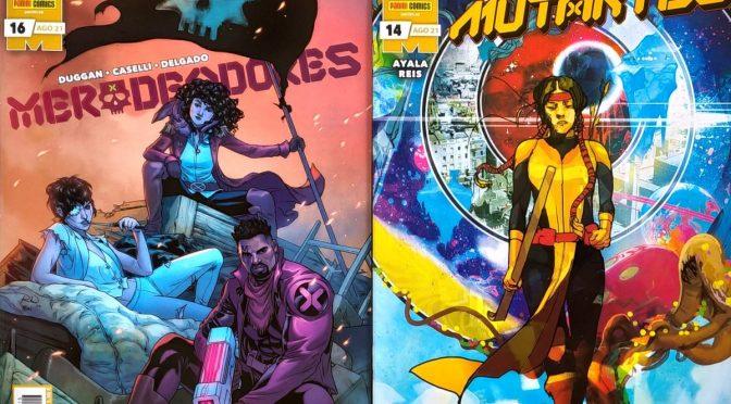 Crítica de Merodeadores 16 y Nuevos Mutantes 14 (Marvel Comics – Panini)