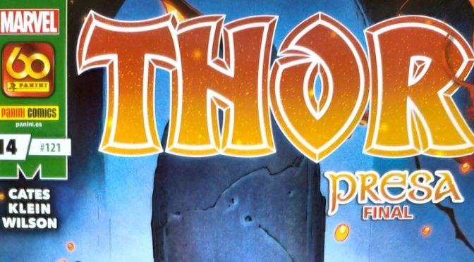Crítica de Thor: Presa, de Donny Cates y Nic Klein (Marvel Comics – Panini)
