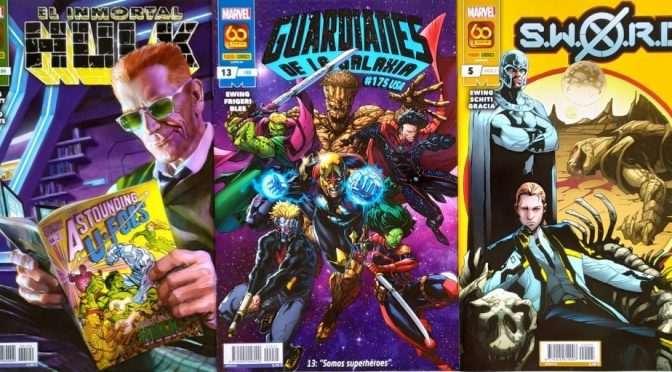 Crítica de El Inmortal Hulk 33, Guardianes de la galaxia 13 y SWORD 5 (Marvel Comics – Panini)