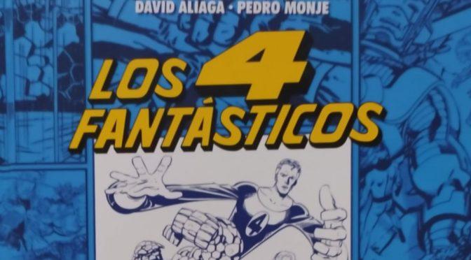 Crítica de Los Cuatro Fantásticos. 60 años explorando el Universo Marvel, de Pedro Monje, Lidia Castillo, David Aliaga y Sergio Aguirre (Dolmen Editorial)
