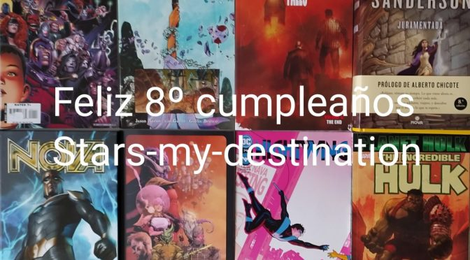 Feliz 8º Cumpleaños, Stars-my-destination