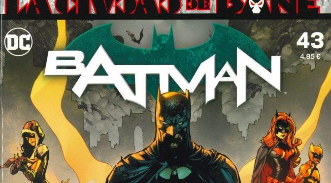 Leyendo Batman de Tom King números 28-43 ECC Ediciones (54-85 USA)