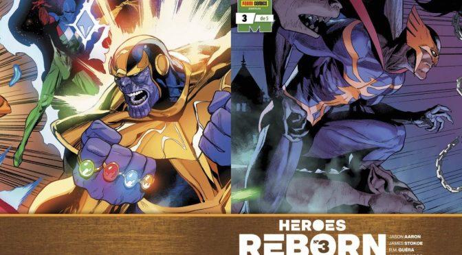 Crítica de Heroes Reborn 3, de Jason Aaron R.M. Guéra, James Stokoe y Ed McGuinness (Marvel Comics – Panini)