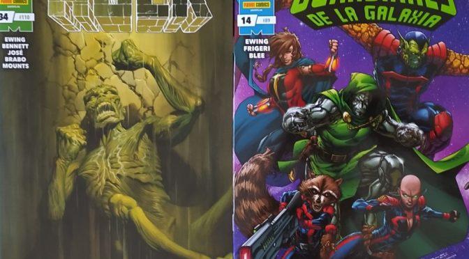 Crítica de El Inmortal Hulk 34 y Guardianes de la Galaxia 14 (Marvel Comics – Panini)