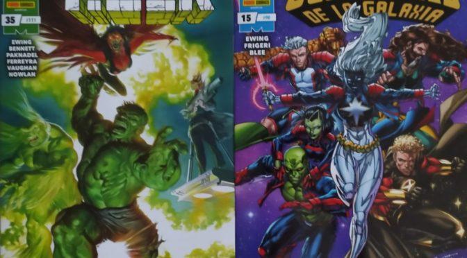 Crítica de El Inmortal Hulk 35 y Guardianes de la Galaxia 15 de Al Ewing (Marvel Comics – Panini)