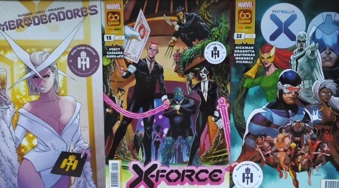Crítica de Merodeadores 18, X-Force 15 y Patrulla X 22 (Marvel Comics – Panini)