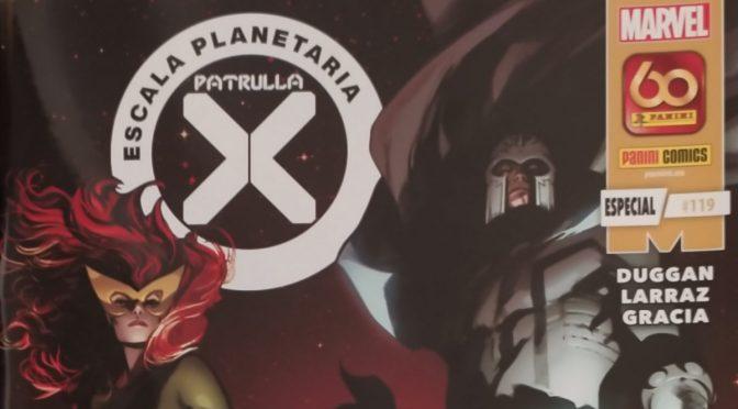 Crítica de Patrulla X: Escala Planetaria de Gerry Duggan y Pepe Larraz (Marvel Comics – Panini)