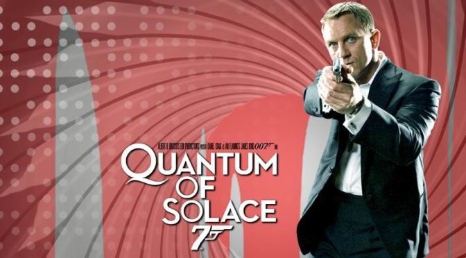 Quantum of Solace de Marc Foster (2008) Segunda película de Daniel Craig como James Bond
